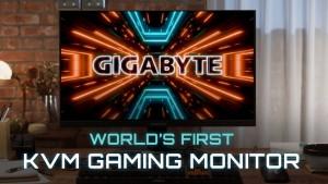 Gigabyte представила игровой монитор M32Q с KVM-переключателем