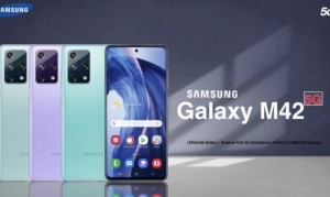 В сети появился тизер смартфона Samsung Galaxy M42 5G
