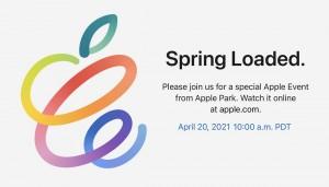 Мероприятие Apple Spring Loaded состоится 20 апреля