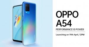 OPPO A54 ожидается в Индии