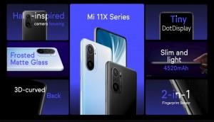Xiaomi запускает серию Mi 11X в Индии