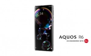Первые рендеры смартфона Sharp AQUOS R6