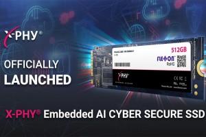 Компания Flexxon анонсировала твердотельный накопитель X-PHY с ИИ для защиты данных