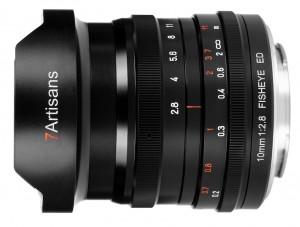 Представлен объектив 7Artisans 10mm f/2.8