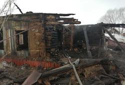 В утреннем пожаре погиб хозяин дома