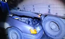 Водитель 'Форда' погиб в столкновении с фурой на трассе