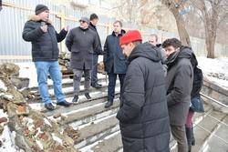 Мэрия: лестницу на набережной полностью перестроят