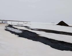 В Пугачевском районе произошла утечка из нефтепровода