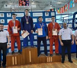 Саратовец выиграл 'золото' чемпионата России по универсальному бою