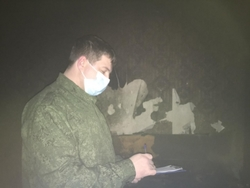 Курильщик умер после пожара в квартире
