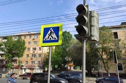 На оживленной магистрали не работают светофоры