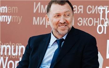 «Этот процесс имеет свои границы и возможности»: Олег Дерипаска рассказал о влиянии санкций на экономику России