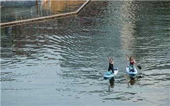 «Сердце обливается кровью, когда вижу ребятишек в воде»: мэр просит красноярцев отказаться от опасных забав во время паводка