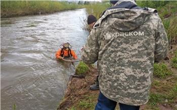Водолазы КрасКома проверяют коллекторы после паводка