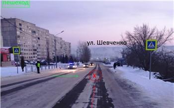 На правобережье Красноярска водитель сбил молодую женщину и уехал: его объявили в розыск