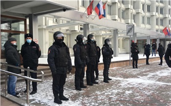 МВД пообещало расследовать каждый факт провокационных действий против полицейских на акциях 23 января