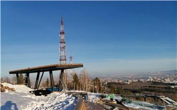 Смотровую площадку на Николаевской сопке сдадут в феврале. Ее парковку делают по редкой для Красноярска технологии