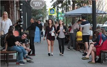 Красноярцы поддерживают идею сделать часть проспекта Мира пешеходной