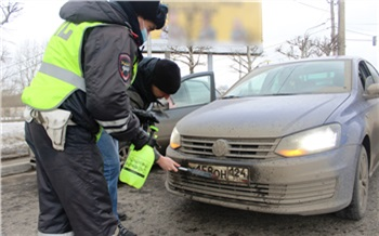 С начала года более 200 красноярских водителей наказали за нечитаемые номера. Сегодня нарушители мыли их под надзором полиции