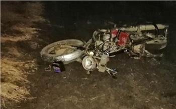 Пьяный водитель «девятки» сбил юную мотоциклистку в Шарыповском районе