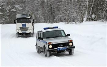 Полицейские прокатились на новом автодоме по северу Красноярского края. Проверяли оружие и документы мигрантов