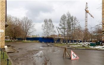 Мэрия: в Красноярске начались активные работы по восстановлению дорог