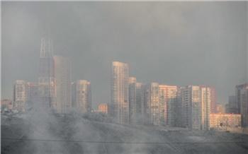 В Красноярск вернулся смог: общественники назвали вероятную причину