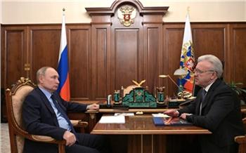 Александр Усс рассказал Владимиру Путину о планах по строительству Красноярск-сити и попросил денег на метро