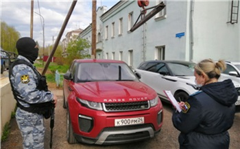 У жителя Красноярска арестовали Range Rover из-за крупного долга перед банком