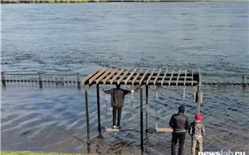 В Красноярске назвали зоны возможного подтопления