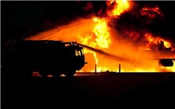 В Ужуре полицейские спасли семью из горящего дома