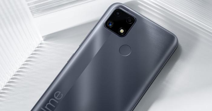 realme представляет новый доступный смартфон realme C25
