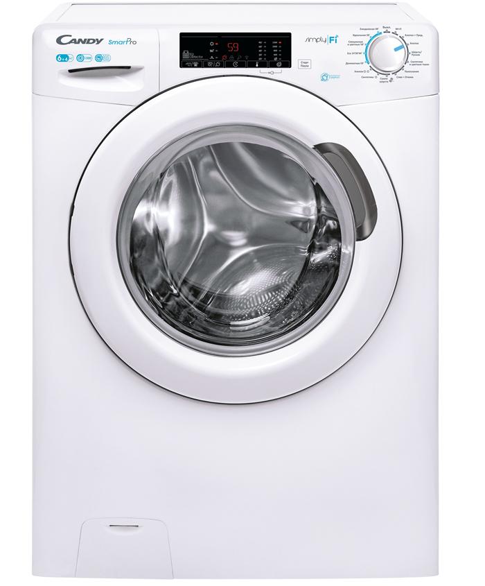 Узкая стирально-сушильная машина Candy Smart Pro поступила в продажу в РФ
