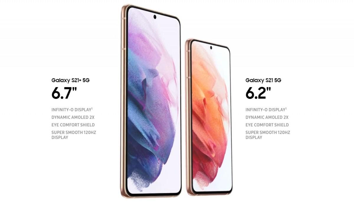 Samsung представила флагманские смартфоны Galaxy S21 и Galaxy S21+