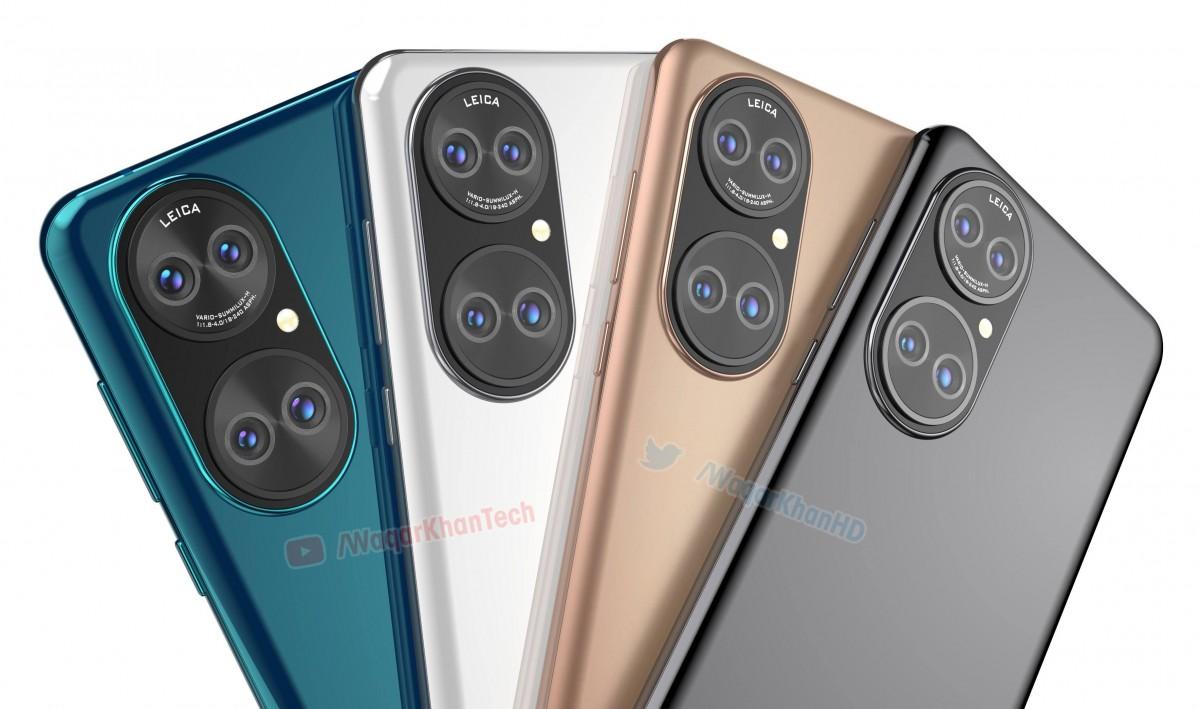 Опубликованы качественные рендеры смартфона Huawei P50