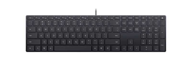 Huawei выпустила ультратонкую проводную клавиатуру