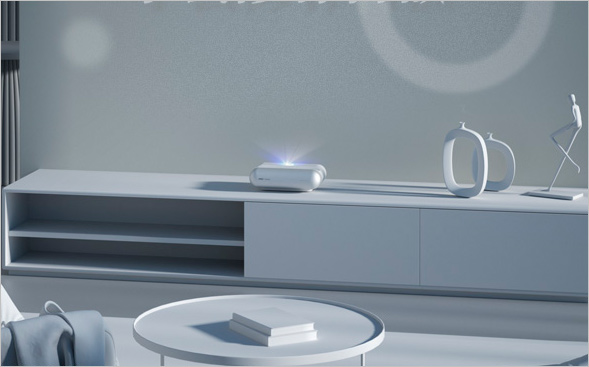 Представлен домашний проектор JMGO Smart Wall O1 с дальностью проецирования 27 см