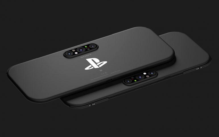 Опубликован концепт игрового смартфона Sony PlayStation 5G