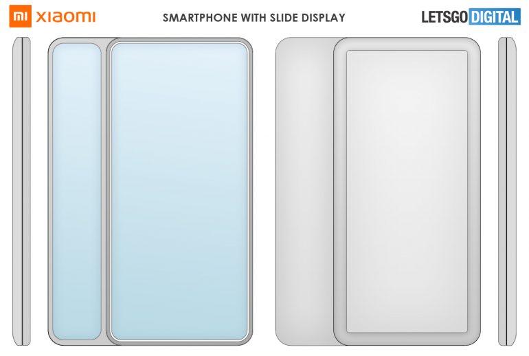 Xiaomi запатентовала несколько вариантов смартфона с боковым слайдером