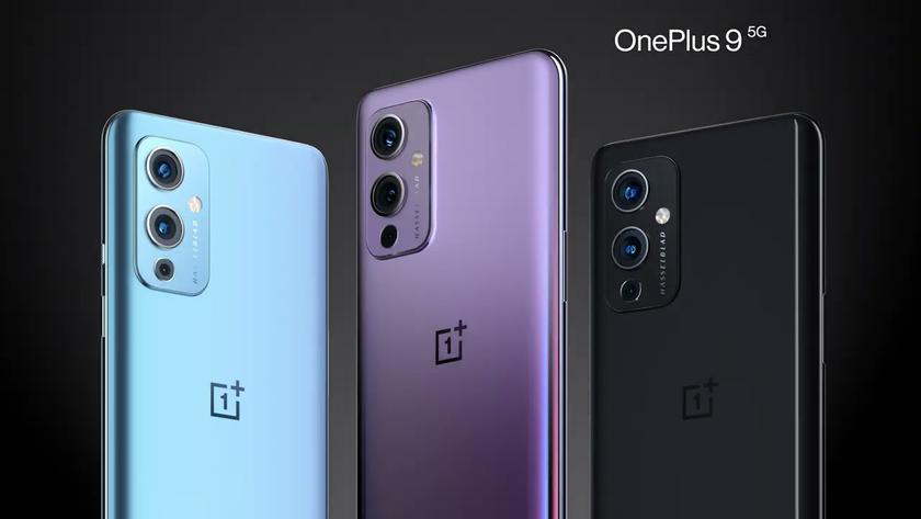 Представлены флагманские смартфоны OnePlus 9 и 9 Pro с камерами Hasselblad