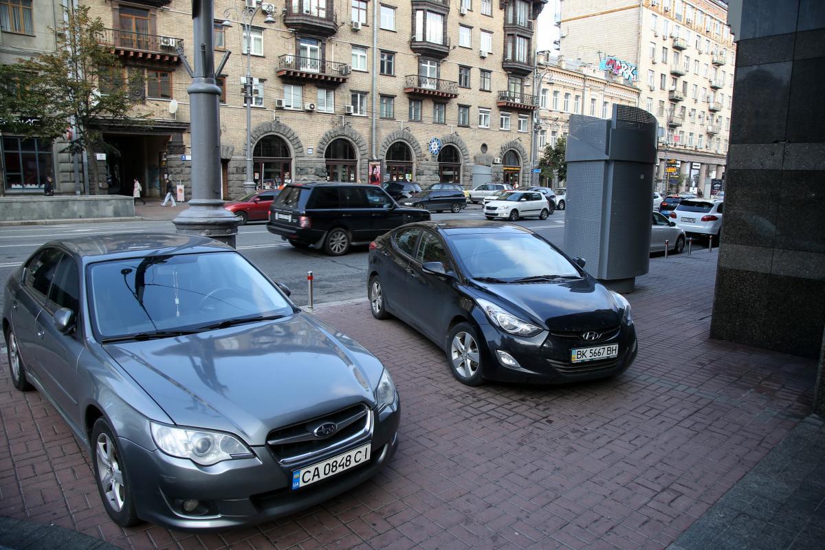 Киевских водителей начнут быстрее штрафовать за парковку: что изменилось
