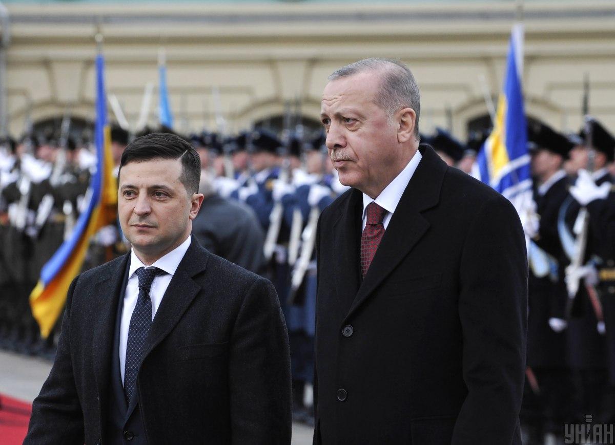 Эрдоган рассказал Зеленскому о шантаже со стороны Путина - WSJ