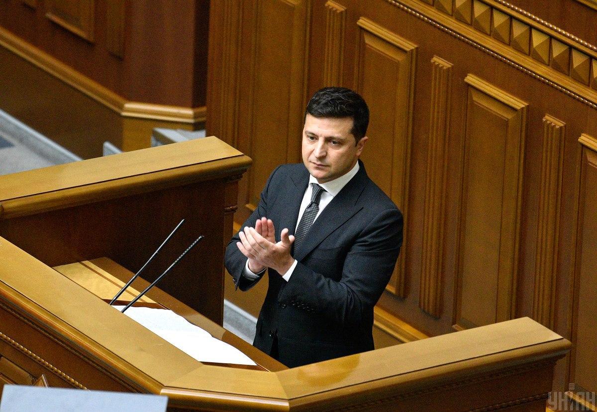 Зеленский подписал закон о компенсациях для предпринимателей в 'красной' зоне