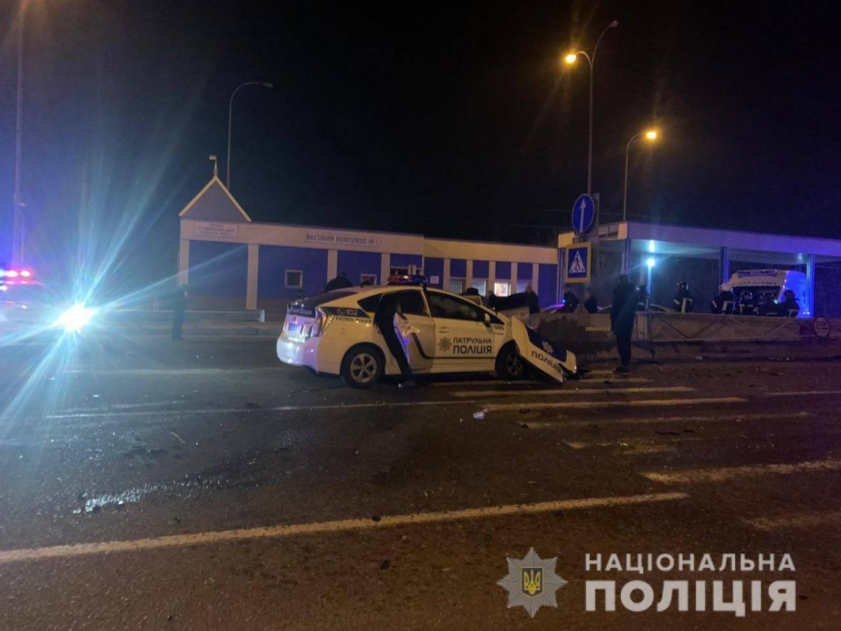 В Одессе копу вручили подозрение в совершении ДТП, в котором погиб полицейский из Винницы