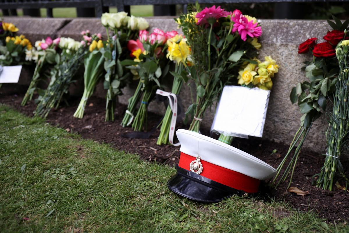 Британские военные провели первую полную репетицию похорон принца Филиппа