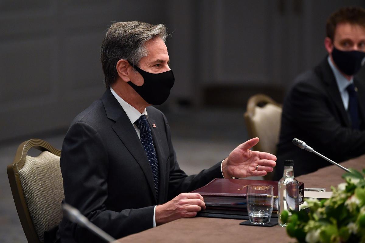 Госдеп назвал главную цель визита Блинкена в Украину