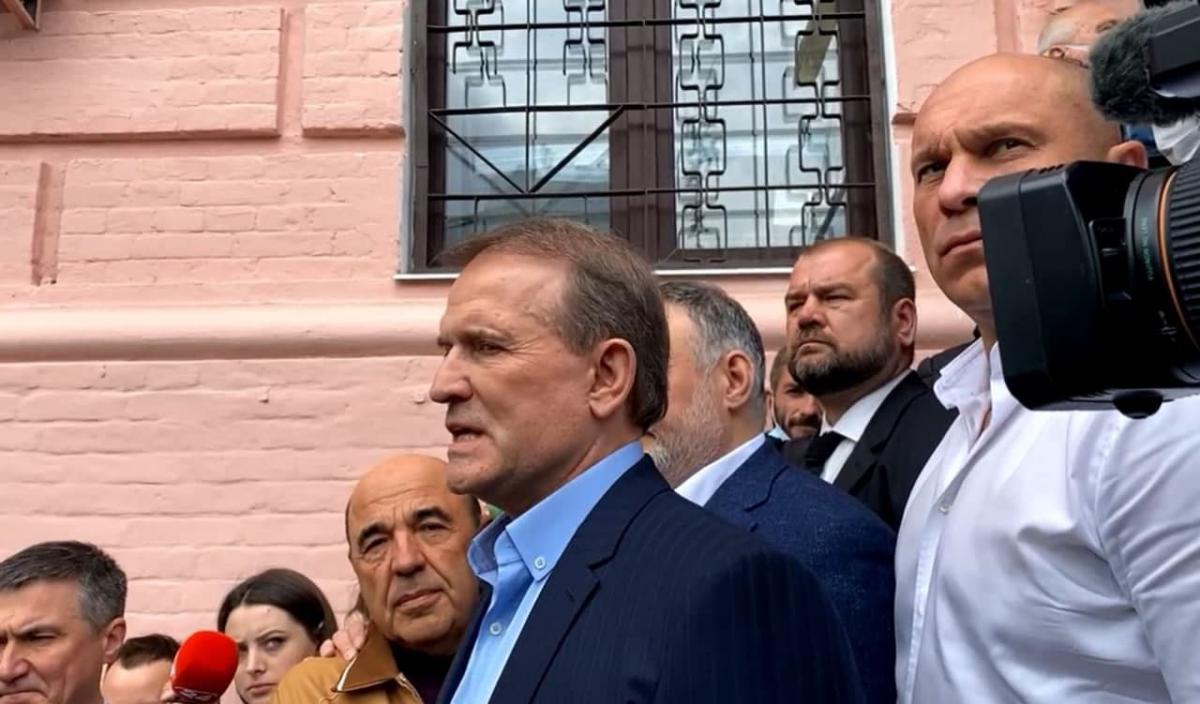 Медведчук прибыл в суд и заявил, что готов к аресту