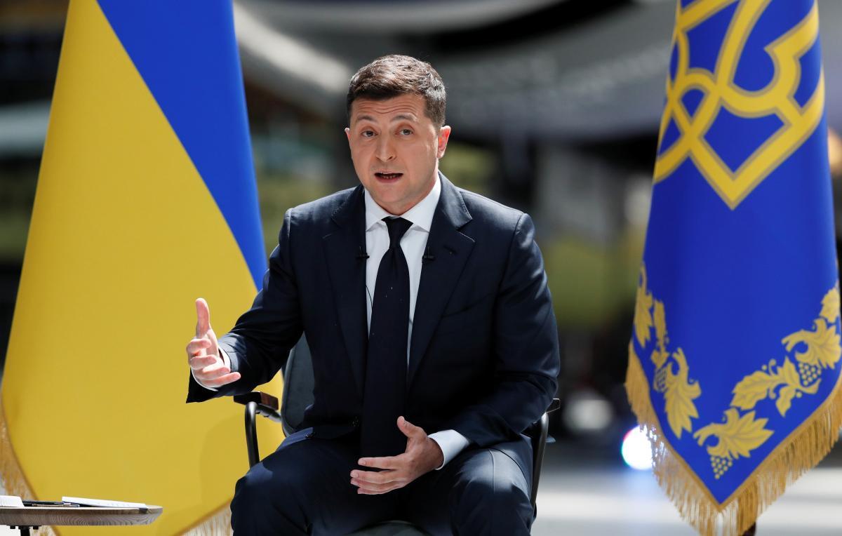 В Киеве проходит пресс-конференция Зеленского: онлайн-трансляция