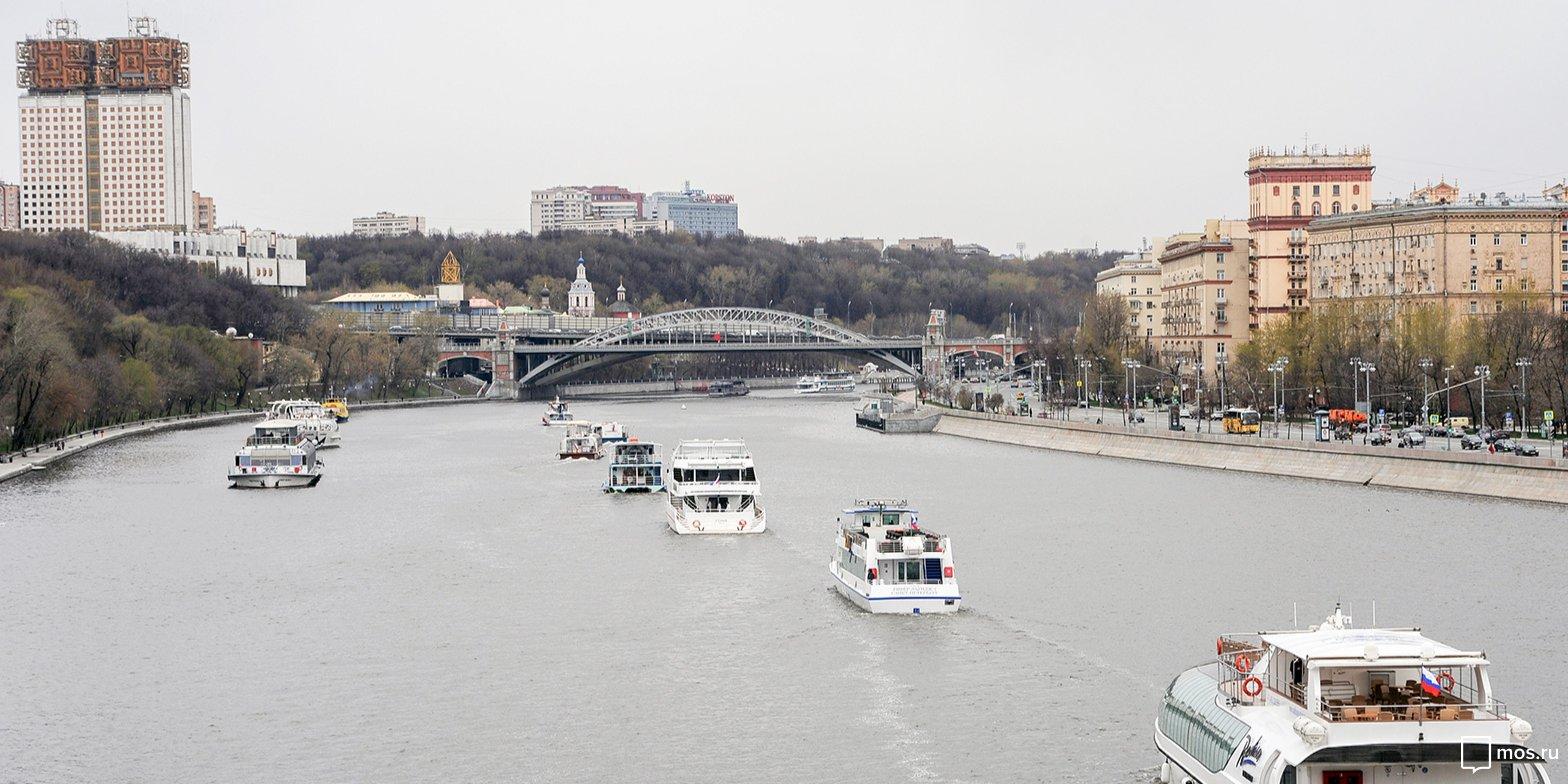 В Москве 13 апреля стартует сезон летней пассажирской навигации