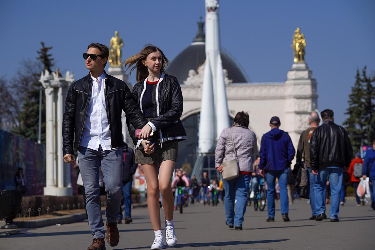 В Москве сегодня установлен абсолютный рекорд температуры